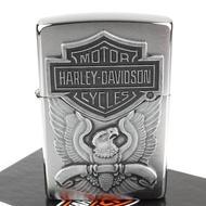 【Zippo】美系~哈雷~Harley-Davidson-老鷹圖案貼飾設計