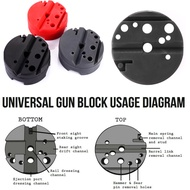 《COD》Universal Durable Bench Block M1911 Ruger 10/22s Style Reassemble Tools