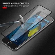 【當天發貨】9H 鋼化 出口專供iPhoneX i7 i8 i6 6s Plus保護貼 全面覆蓋弧邊前玻璃貼
