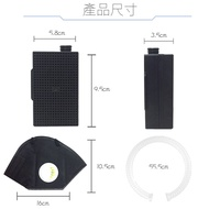 HANLIN-AirPM 防塵過敏口罩空氣清淨器 pm 2.5 隨身過濾器 3m