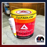 Alfagloss High Quality Polyester Putty Plastic Body Filler 3 Kg