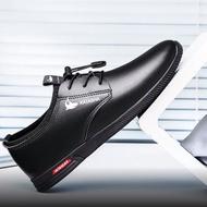 รองเท้า รองเท้าผู้ชาย รองเท้าหนังชาย รองเท้าคัชชูผู้ชาย พื้นเย็บ สีดำ💥SF💥