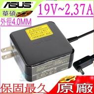 ASUS 19V,2.37A,45W 充電器(原廠)-華碩 UX303LG,UX303LN,Taichi 21,TAICHI21,21-CW001P,21-CW002H,ADP-45AW A,ADP-40TH A,AD883320,BX21A,BX303LA,BX303LB,BX303LN,BX310UA,BX310UQ,BX31A,BX31E,BX31LA,BX32A,BX32LA,BX32VD,BX410UA,BX410UQ,BX51VZ,D553MA,F553MA,F556UA,Q302LA
