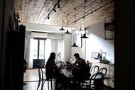 住宿 台中|北歐綠意8-14人包棟|簡約工業風|逢甲八分鐘|開放式廚房大客廳 西屯區, 台中市, 台灣地區