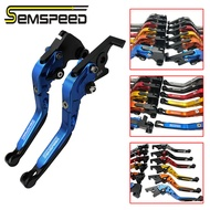 SEMSPEED For Yamaha TFX150 TFX 150 2016 2017 2018 2019 2020 Motorcycle Adjustable Folding Extendable Long Brake Clutch Handle Bar Lever