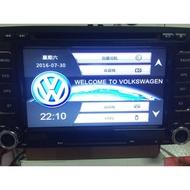 福斯Santana GOLF Caravell jetta T5 原廠風格界面 通用型觸控螢幕主機 導航/USB/DVD