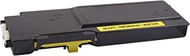 V7 V7MD8G4 Remanufactured High Yield Yellow Toner Cartridge for Dell C3760-9000 page yield