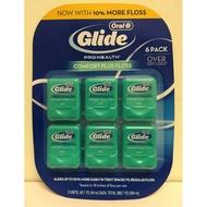 【佩佩的店】COSTCO 好市多 Oral-B 歐樂B GLIDE 清潔舒適牙線 薄荷口味 44公尺*6入 新莊可面交