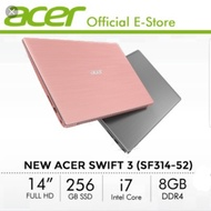 Acer swift 3 i7-7200u (sakura pink)