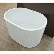 [新時代衛浴]  100cm獨立小浴缸,薄邊內空間大,小空間也可舒適泡澡XYK109S