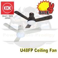 KDK U48FP 48 INCH LED DC MOTOR CEILING FAN / 3 BRIGHTNESS LED LIGHT / CEILING FAN