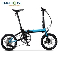 DAHON K3-plus 16-inch mini ultralight variable speed disc brake folding bicycle adult male and female bicycle KAA693