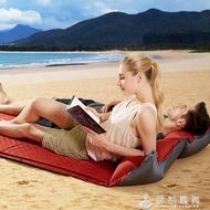 自動充氣墊防潮墊戶外帳篷睡墊 加厚雙人充氣床墊單人露營午休墊ATF 伊杉風尚