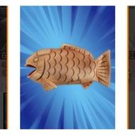 佛心價📢抓樂霸toreba 鯛魚燒造型 玩偶抱枕