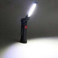 充電式工作燈 折疊式+掛勾+底部磁鐵 安卓充電 磁鐵工作燈 蛇燈 非 HL-9015 手電筒 電燈