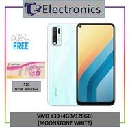 Vivo Y30 *FREE $10 NTUC Voucher  (4GB/128GB) - T2 electronics