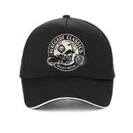 Men's Vintage Glory Bounds Motorcycle USA baseball cap Heavy Metal Men rock Motor Dad hat 100% Cotton snapback hats gorras