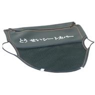 【omax】機車3層式拉鍊大置物網袋-2入