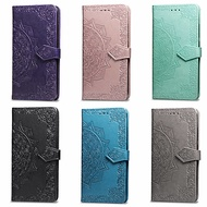 case for google google pixel 3 / google pixel 3 xl wallet / card holder / with stand full body cases mandala hard pu leather