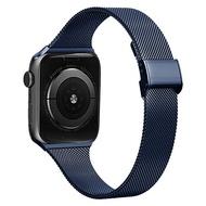 เหมาะสำหรับแอปเปิ้ลนาฬิกาข้อมือ applewatch6สายรัด iwatch seนาฬิกา ย่า เจ้าแม่ เทพี เทวี เมีย แม่บ้าน แม่ผัว สายรัดข้อมือโลหะดีสำหรับ Apple Milan6/5S44mm40/42/38ชายและหญิงบุคลิกภาพเทป