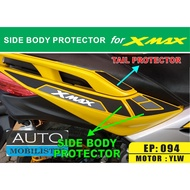 SIDE BODY PROTECTOR XMAX - XMAX SIDE COVER PROTECTOR - XMAX ACCESSORIES