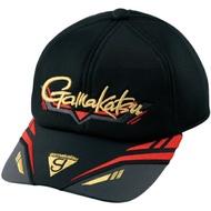 =佳樂釣具= GAMAKATSU 釣魚帽 GM-9853黑紅色 釣魚帽