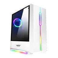 AIGO 電腦機殼 T20 白 電腦機殼 PC機殼 電競機殼 電腦機箱【迪特軍】