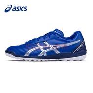 Asics亚瑟士足球鞋男鞋TF碎钉艾斯克斯球鞋训练鞋正品 蓝色 42.5