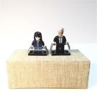 Marvel 金鋼狼 羅拉 lego兩隻合售