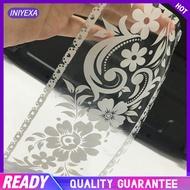 Transparent Lace Wallpaper Border Bathroom Mirror Sticker Wall Paper Gift