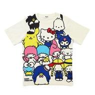Hello Kitty三麗鷗家族圓領短袖棉T(FREE SIZE)/T袖/短袖T恤