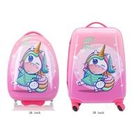 16''18นิ้วกระเป๋าเดินทางสำหรับเด็กกระเป๋าเดินทางเด็กกระเป๋าเดินทาง Rooling กระเป๋าเดินทางน่ารักกระเป๋ารถเข็นกระเป๋าเดินทางดีไซเนอร์