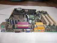 展基,AOPEN主機板,MX3W,P3賽陽700CPU,128M記憶體,內建顯示,3組PCI,良品