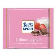 【買四送一、贈品隨機】Ritter Sport 草莓優格巧克力100g
