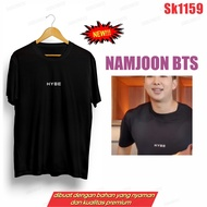 !! Bts T-Shirt NAMJOON RM HYBE Central Front Only SK1159 UNISEX