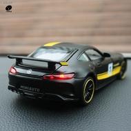 ❉奔馳AMG車模型汽車擺件仿真合金車模型GTR創意車內裝飾中控臺擺件