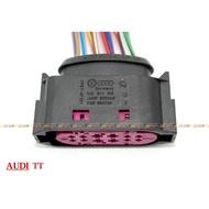 (VAG小賴汽車)Audi TT 大燈 線束 插頭 1J0941165 全新