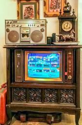 早期 拉門 古董 大同電視機(改裝服務)
