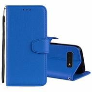 Huawei Y6 Prime Y6 2018 Business Leather Flip Case