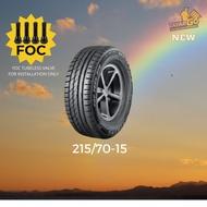 TAYARGO: 215/70-15 China Tyre Tayar Murah Kereta 4x4 | Toyota Rush | Rim  15