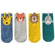 襪子 caramella兒童襪子秋冬女中筒襪新生嬰兒純棉卡通寶寶襪1-3-5-7歲【小天使】