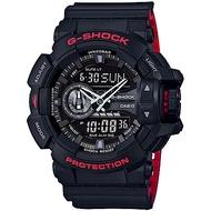 CASIO卡西歐G-SHOCK Black&Red系列運動腕錶  GA-400HR-1A