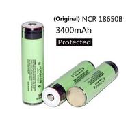 1/2/4/6/8/10/20 pcs 18650 3400mah rechargeable battery ncr18650b 3.7v lithium battery+pcb