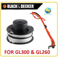 RS300 BLACK DECKER GL300 GL260 SPOOL LINE REFILL NYLON STRING GRASS TRIMMER CUTTER MESIN SPARE PART ACCESSORIES