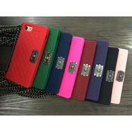 小香風 Apple iPhone6(s)/i6(s)plus/ i7/7plus/i8/8p 全包邊手機殼(附鏈子)