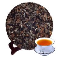 【冠迪】買3送1福鼎白茶葉特級福鼎老白茶餅野生老壽眉貢眉白茶餅