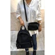 韓國🇰🇷防水後背包/🎈後背包+斜背包/媽媽包/旅行包/肩背包/防水三用包(現貨+預購)
