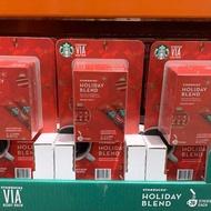 好市多 Costco代購STARBUCKS VIA 季節限定即溶咖啡(2019)