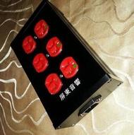 166.厚鋁合金4/6位排插配PASS醫療級20A插座原價3000/4000特價2000/2500元