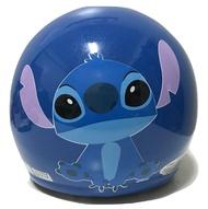 【台灣製造】【兒童卡通安全帽】【史迪奇】 幼兒 兒童安全帽 正版授權 附原廠鏡片 抗UV 檢驗合格 藍色